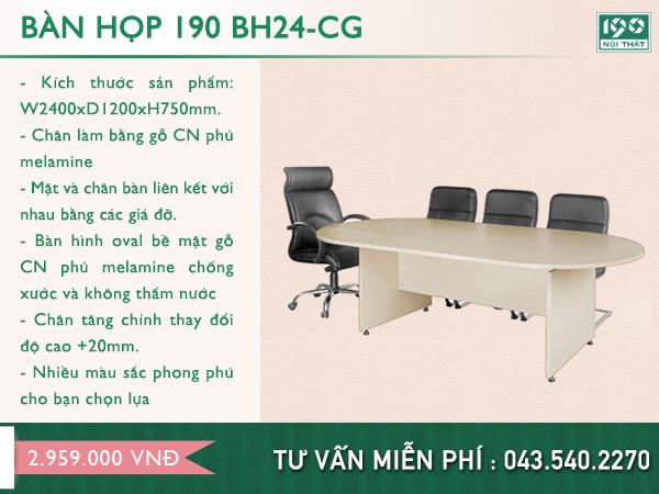 Bàn họp 190 BH24-CG