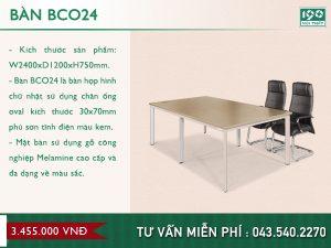 Mẫu bàn BCO24
