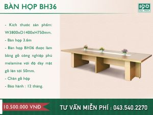 Bàn họp BH36