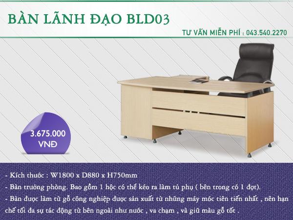 Bàn lãnh đạo BLD03