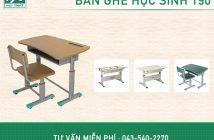 Bàn ghế học sinh 190: Tiêu chuẩn – chất lượng – hợp thẩm mỹ