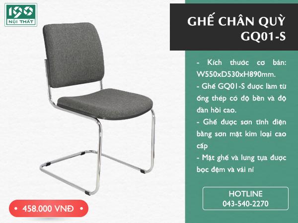 Ghế chân quỳ GQ01-S