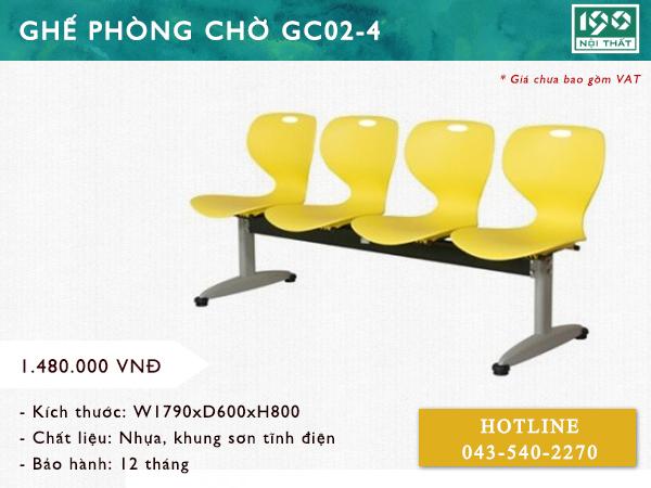 Ghế phòng chờ GC02-4