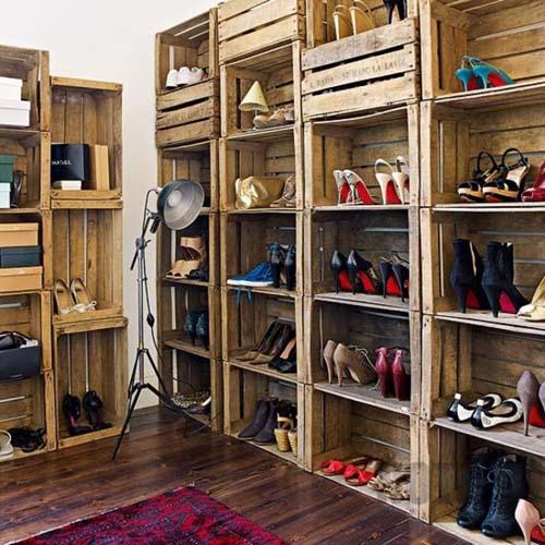Chọn chất liệu tủ giày