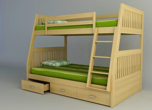 Lưu ý quan trọng khi mua giường tầng cho bé