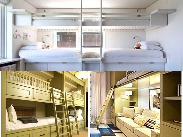 Giường tầng hiện đại dành cho người lớn