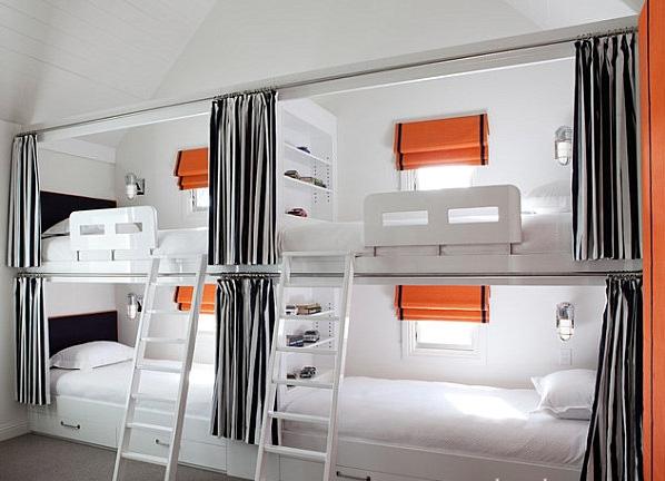 Giường tầng kiểu ghế ngồi