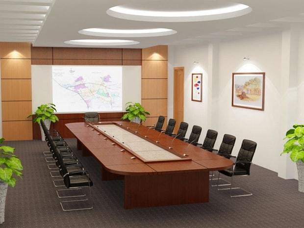 Cách bố trí phòng họp theo phong thủy ngũ hành