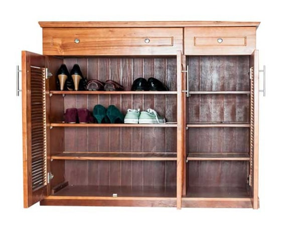 Những điều cần lưu ý khi bố trí tủ giày