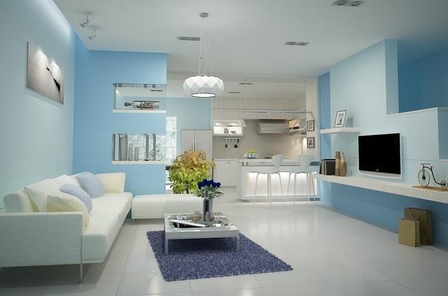 Những màu sắc chuẩn cho không gian phòng khách