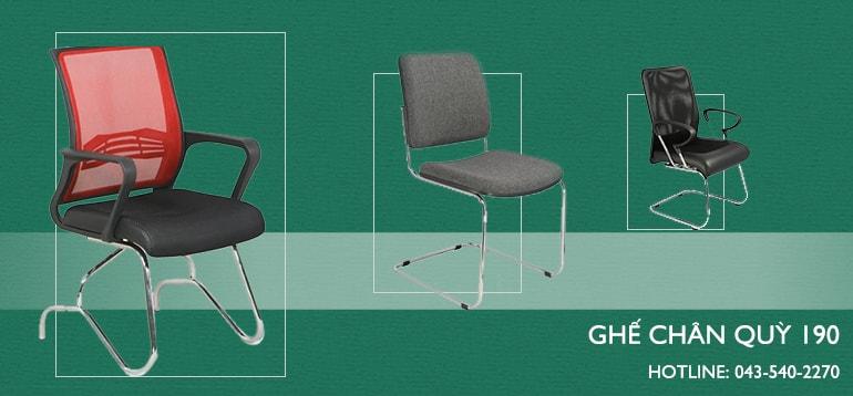 3 loại ghế chân quỳ chất lượng tốt nhất hiện nay