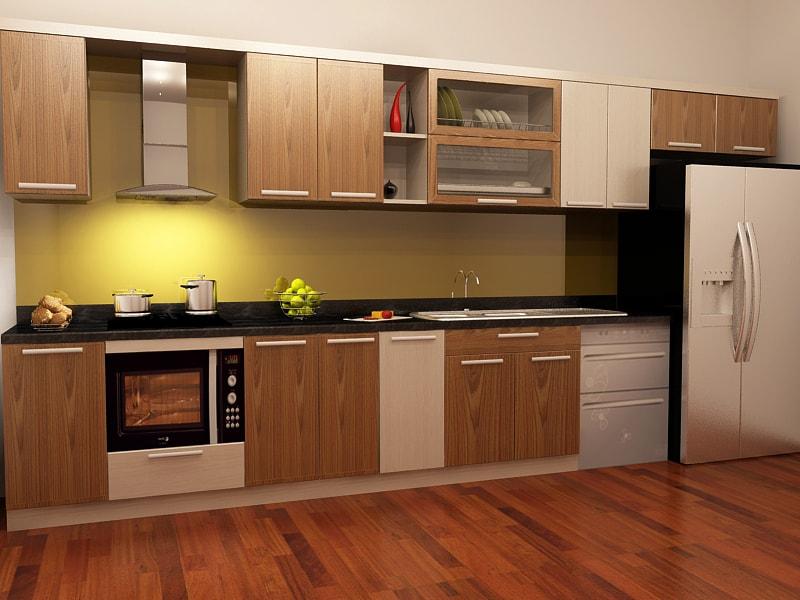 5 cách bảo quản tủ bếp bằng gỗ nhanh chóng ít tốn kém