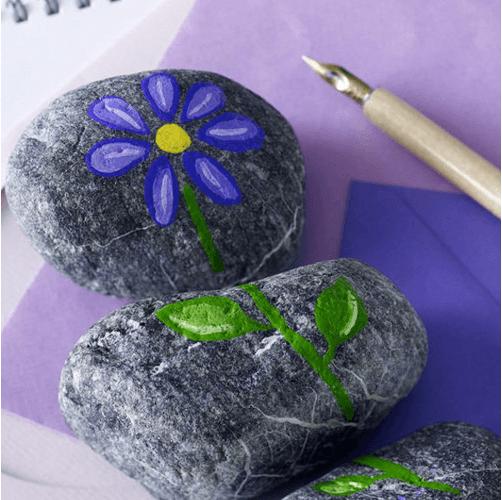 """Trang trí nhà """"hút mắt"""" từ chất liệu sỏi và đá"""