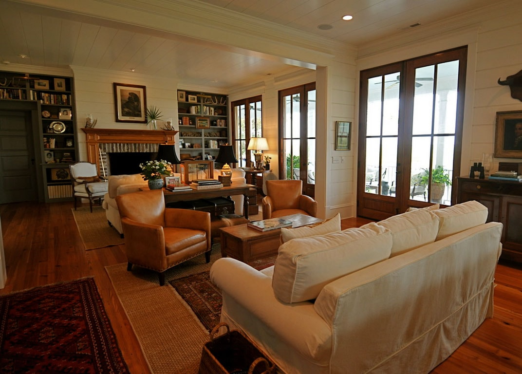 Phòng khách hẹp và dài nên bố trí nội thất như thế nào?