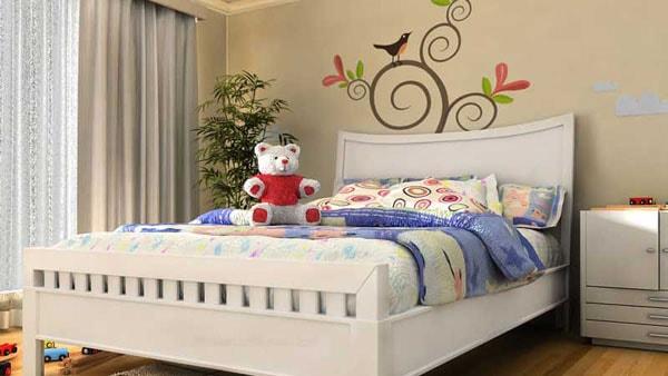 Nội thất gỗ - lựa chọn an toàn cho phòng ngủ của bé