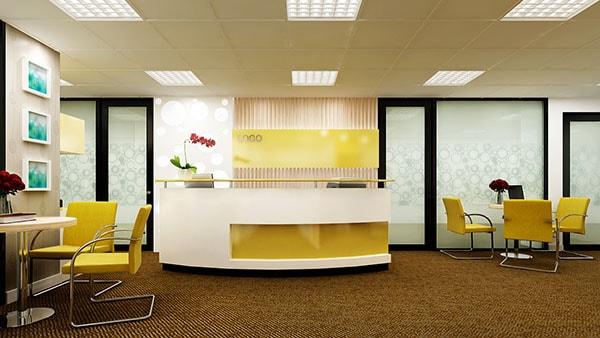 Cách bố trí nội thất phù hợp cho văn phòng