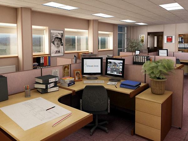 Thiết kế văn phòng làm việc mở giúp nhân viên thêm cảm hứng khi làm việc