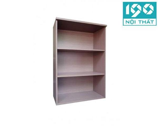 Tủ có màu vân gỗ ghi sáng dễ kết hợp với các món nội thất khác trong phòng