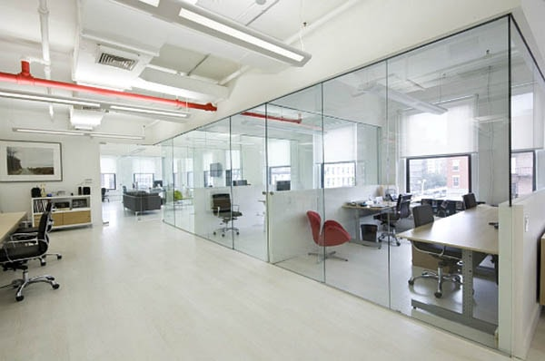 Xu hướng thiết kế phòng làm việc với không gian mở hiện đại
