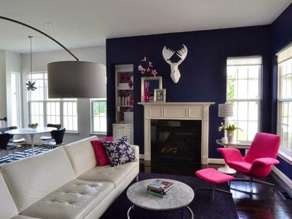 Cách sử dụng hai tông màu nóng và lạnh cho nội thất nhà ở