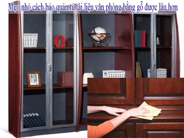 Làm thế nào để bảo quản tủ gỗ văn phòng giá rẻ