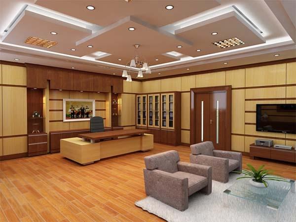 Phòng giám đốc rộng chọn nội thất thế nào cho hài hòa?