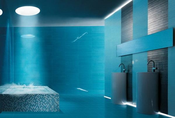Thiết kế phòng tắm theo phong cách lãng mạn