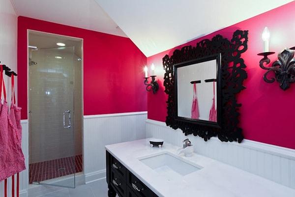 Thiết kế phòng tắm theo phong cách trẻ trung, vui tươi