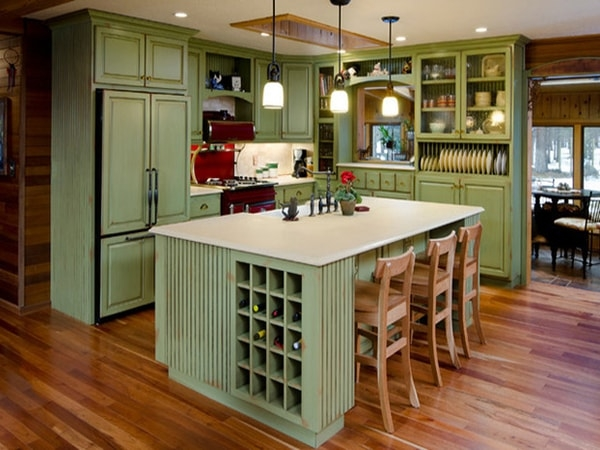 Tư vấn chọn hướng đẹp cho nội thất phòng bếp