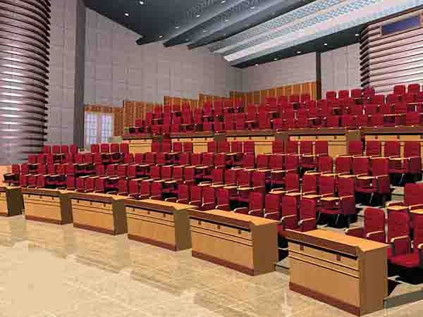 Ưu điểm của ghế hội trường Hòa Phát khung gỗ tự nhiên