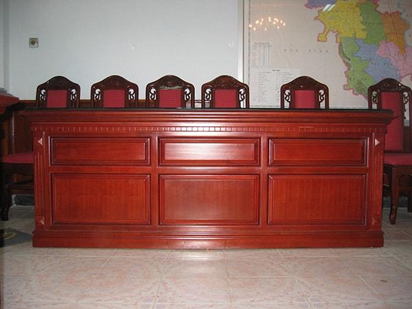 Ghế hội trường Hòa Phát khung gỗ tự nhiên bền đẹp theo thời gian