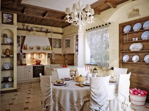Nhà có lò sưởi