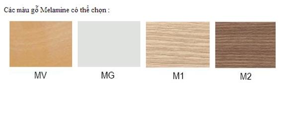 Màu sắc bàn làm việc BCO12