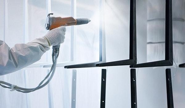 Bàn làm việc BCH12 sử dụng chất liệu sắt sơn tĩnh điện