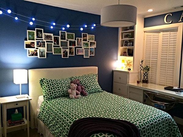 Làm mới phòng ngủ của trẻ bằng ánh sáng