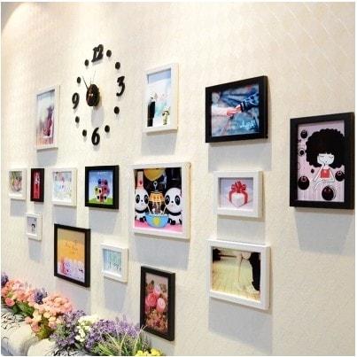 Trang trí phòng của trẻ bằng khung ảnh