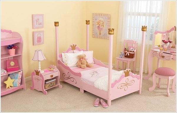 Lựa chọn đồ nội thất đồng bộ trong phòng trẻ