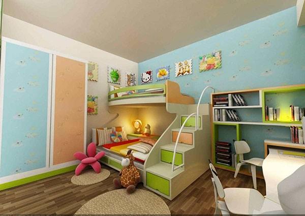 Thêm đồ trang trí trong phòng của trẻ