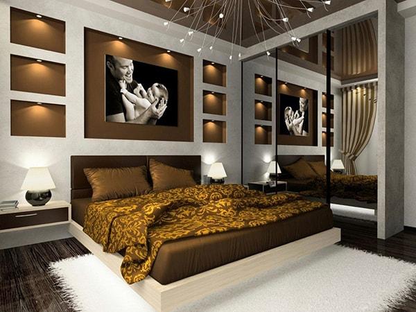 Lựa chọn nội thất với tông màu trầm