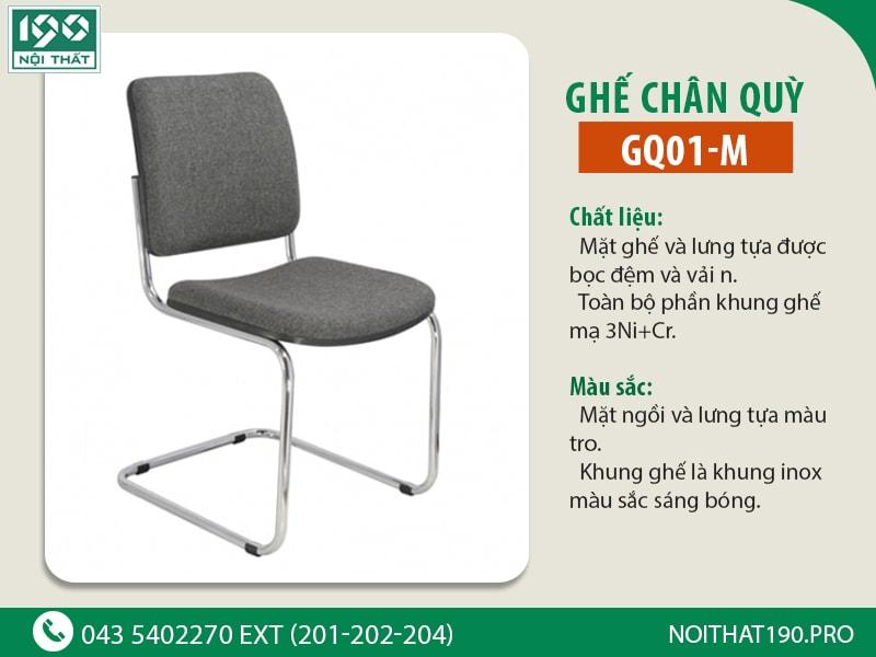 Ghế chân quỳ GQ01-M