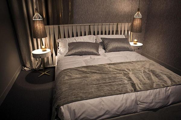Chiếu sáng phòng ngủ nhỏ hẹp