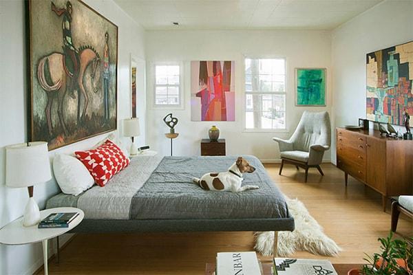 Phòng ngủ theo phong cách Midcentury là gì?