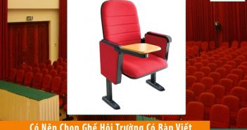 4 lý do nên chọn ghế hội trường kèm bàn viết cho trường đại học