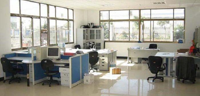 Vì sao các mẫu vách ngăn văn phòng nỉ 2018được ưa chuộng?