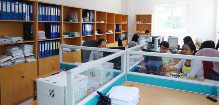 Vì sao nên dùng vách ngăn văn phòng nỉ cho phòng kế toán?