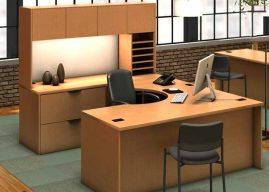 Có nên lựa chọn bàn làm việc chữ U cho văn phòng không?