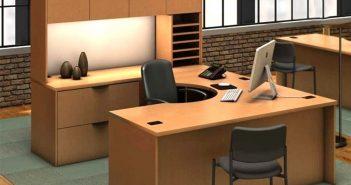 Có nên lựa chọn bàn làm việc hình chữ U cho văn phòng không