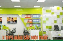3 Tips về màu sắc nội thất dùng trong văn phòng