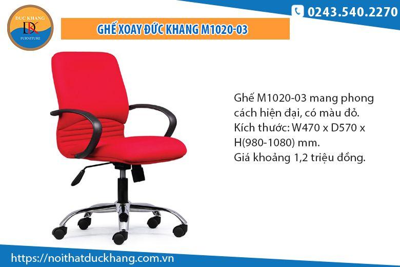 Ghế văn phòng Đức KhangM1020-03