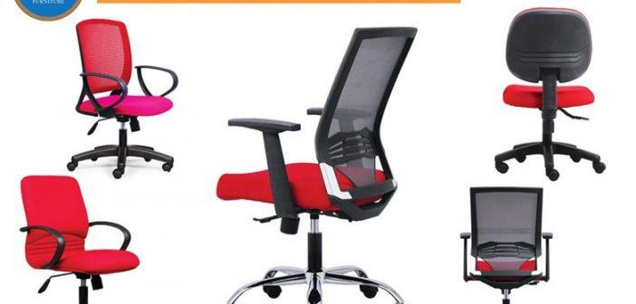 Top 5 ghế văn phòng màu đỏ Đức Khang bán chạy nhất 2018